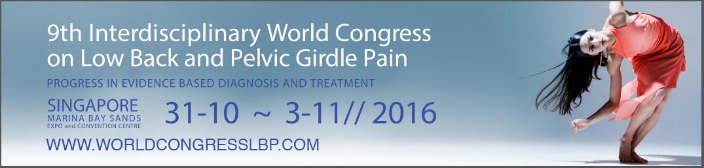 9th Interdisciplinary World Congress on Low Back Pelvic Girdle Pain