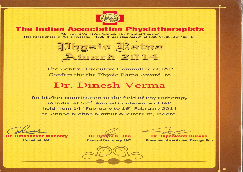 Physio Ratna Award