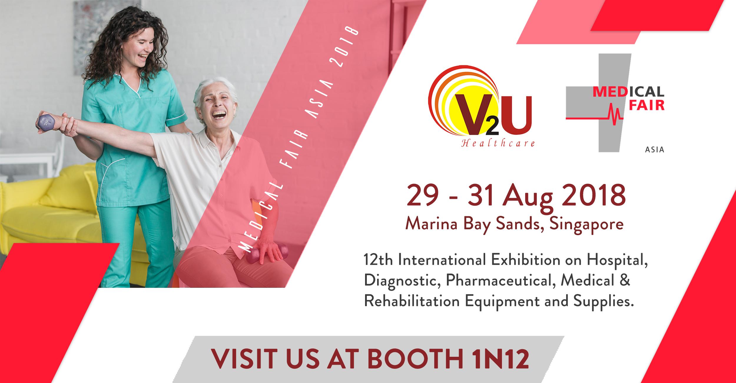 Medical Fair Asia - Singapore, 2018