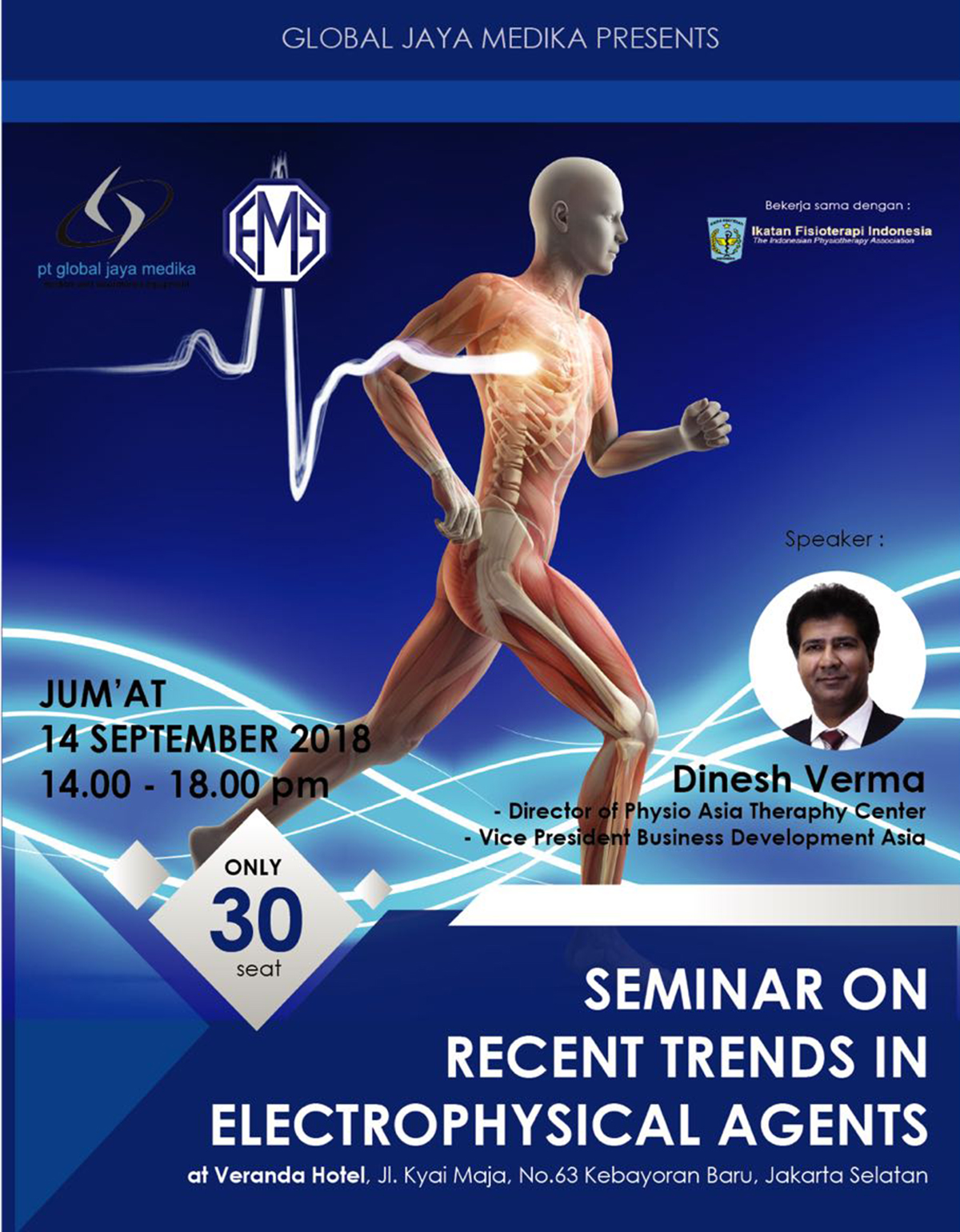 Seminar on Recent Trends in Electrophysical Agents
